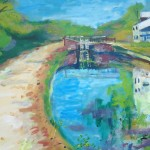 Tow Path Painting